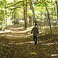 Hunter walking