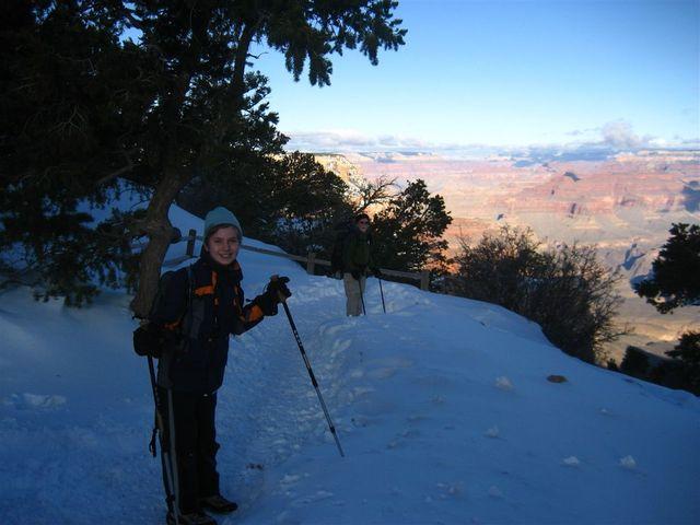 Heading down South Kaibab Trail!