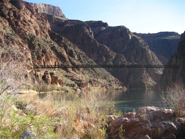Bridge over Colorado River - Grand Canyon
