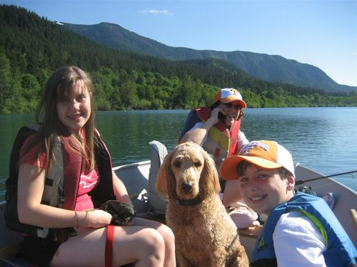 Father's Day on Rattlesnake Lake