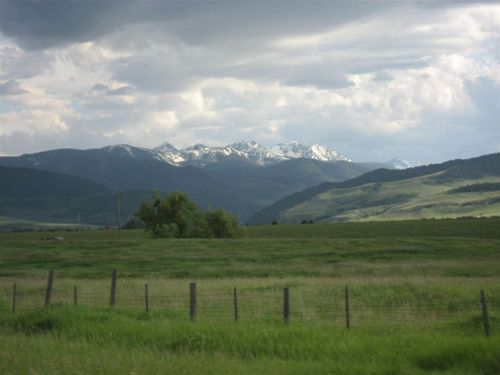 View from Bozeman, MT
