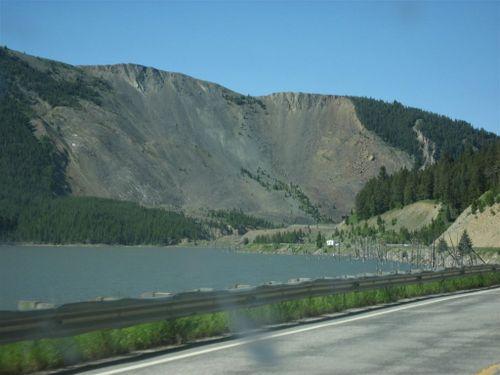 Quake Lake and the cause