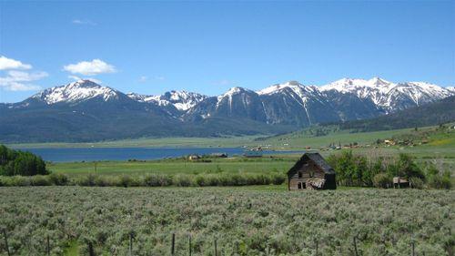 Staley Springs Lake in NE Idaho