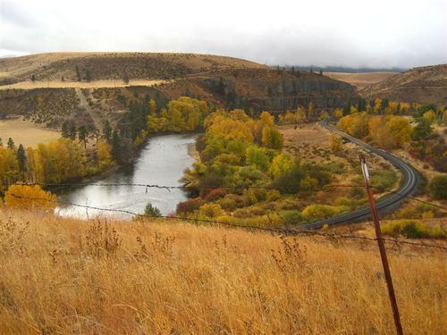 Yakima River, just up from Thorpe near Cle Elum