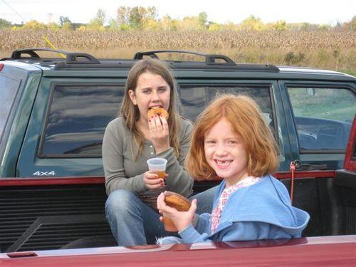Hannah and Miranda